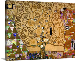 the tree of life 1909 by gustav klimt canvas art print framed art print wall art classic art