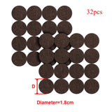 8/16/24pcs/lot Chair Leg Pads Floor Protectors for Furniture Legs Table leg Covers Round Bottom Anti-Slip Pads