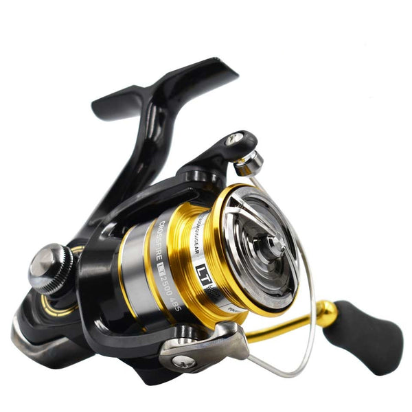 Reel CROSSFIRE LT Spinning Fishing Reel 1000-6000 ABS Metail Spool 5-12KG Power Hard Gear Light & Tough Body