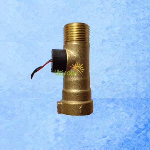 "1/2"" DN15mm Brass Wiegand Effect Liquid Flow Sensor USC-HS21TO 1-30L/min  Zero Power Consumption"