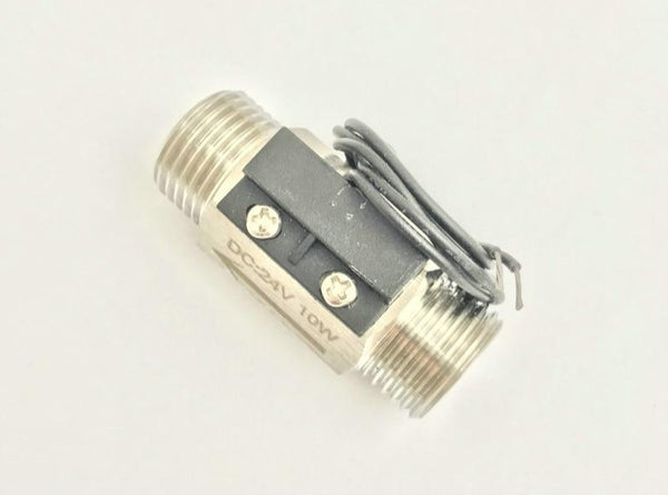 "USM-FS21TSS 100 Degree Normally open Circuit Spring Flow Switch 10W Max Load DC250V AC220V Max Reliable BSP G1/2"" Male  SUS304"