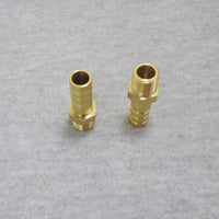 "BSP Male G1/8"" to 8/10mm Outer Diameter Brass Hose Barb Pluging for Plumbing from Ultisolar"