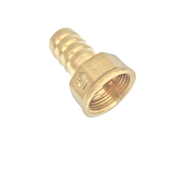 "BSP Female G3/4"" to 19mm Outer Diameter Brass Hose Barb Pluging for Plumbing from Ultisolar"