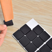 2 8 16 30 Pieces Furniture Leg Carpet Anti Scratch Self Adhesive Floor Protectors For Chair Table Anti Slip Chair Leg Caps