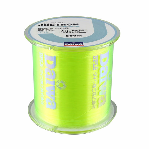 500M Nylon Fishing Line Japanese Durable Monofilament Rock Sea Fishing Line Thread Bulk Spool All Size 0.4 To 8.0