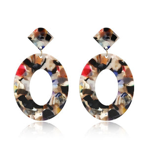 Acrylic Earrings 2019, Big Statement Earrings for Women