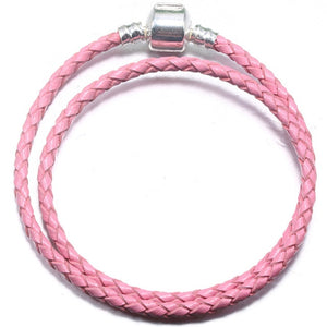BAOPON High Quality 9 Colors Leather Charm Bracelets