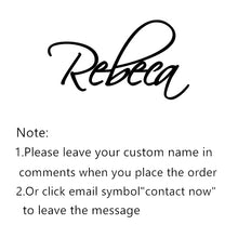 Load image into Gallery viewer, Personalized Name Necklace Stainless Steel Charm Custom Name Jewelry Any Name 11 Font Style To Choose For Girls Kids