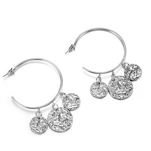 Docona Luxury Gold Silver Earrings for Women