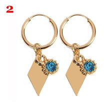 Load image into Gallery viewer, 1Pair New Boho Style Earrings, Cross Heart Dangle