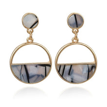 Load image into Gallery viewer, 2019 New Women's Earrings, Color Metal Simple Charm