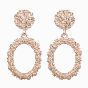 Big Drop Earrings for Women Geometric Statement 2019