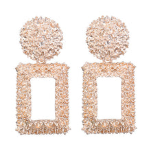 Load image into Gallery viewer, Big Drop Earrings for Women Geometric Statement 2019