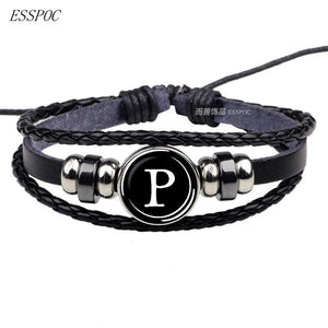 26 Letters Bracelet Personality Team, Men & Women