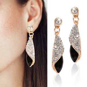 1 Pair Earrings Women, With 4 Colors