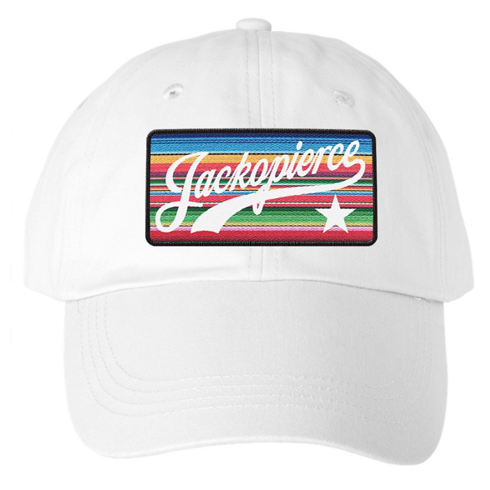 Jackopierce White Dad Hat Pre-order