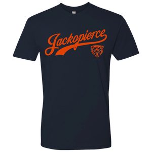 JP Chicago Tee - Navy/Orange