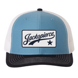 JP Trucker - Navy/Light Blue/White