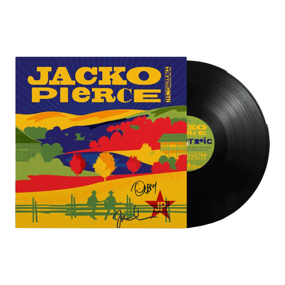 JP Limited Edition Vinyl - Signed
