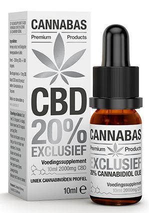 CBD Oil 20% Cannabas X-FORTE Premium Full Spectrum