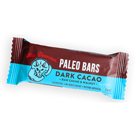 BLUE DINOSAUR Paleo Bar Dark Cacao