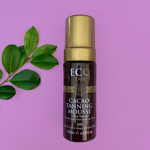 ECO TAN - Cacao Tanning Mousse