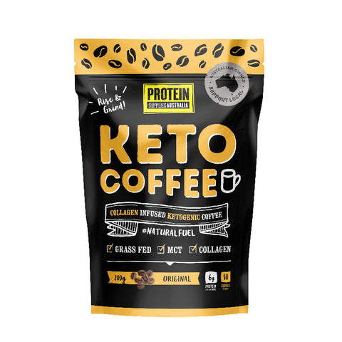 Protein Supplies Australia - Keto Coffee 200g