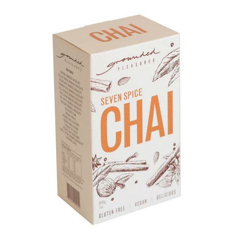 GROUNDED PLEASURES Seven Spice Chai 200g