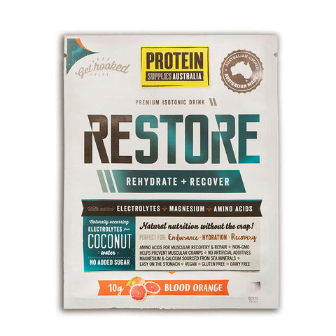 Protein Supplies Australia - Restore Blood Orange 200g