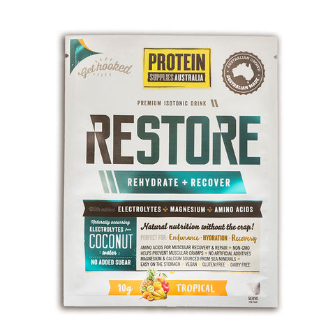 Protein Supplies Australia - Restore Tropical 200g