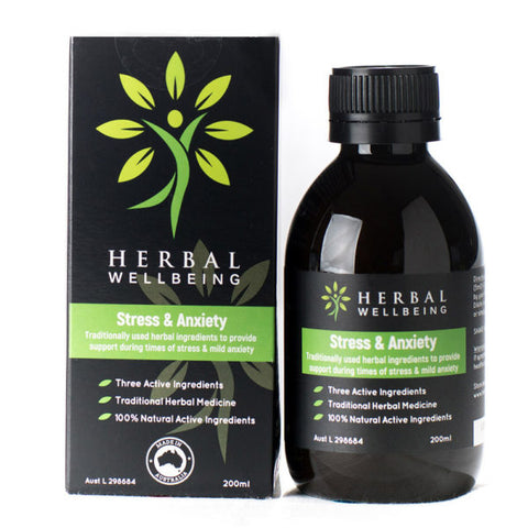 Herbal Wellbeing - Stress & Anxiety 200ml