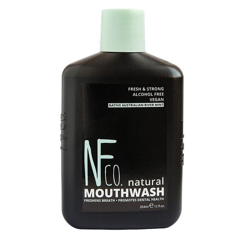 The Natural Family Co - Natural Mouthwash, Australian River Mint 354ml
