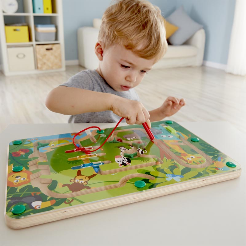 Labyrinthe de la jungle en bois Hape