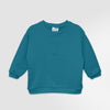 Crewneck sweatshirt  |  Light petrol