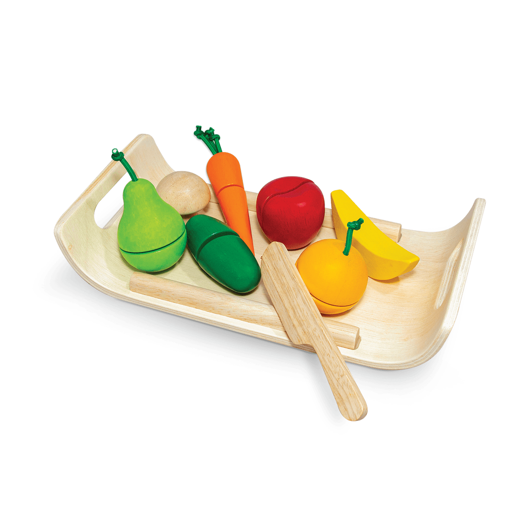 Assortiment de fruits & légumes PlanToys