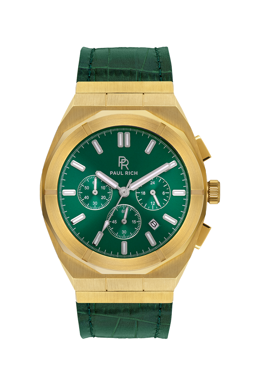 PAUL RICH MOTORSPORT - GREEN GOLD LEATHER