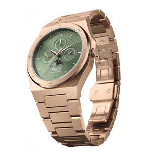 VALUCHI Rose Gold Green – Automatic