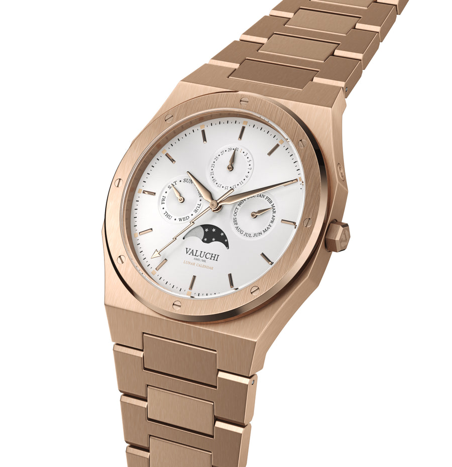VALUCHI Rose Gold White