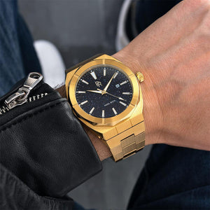 PAUL RICH STAR DUST - GOLD AUTOMATIC