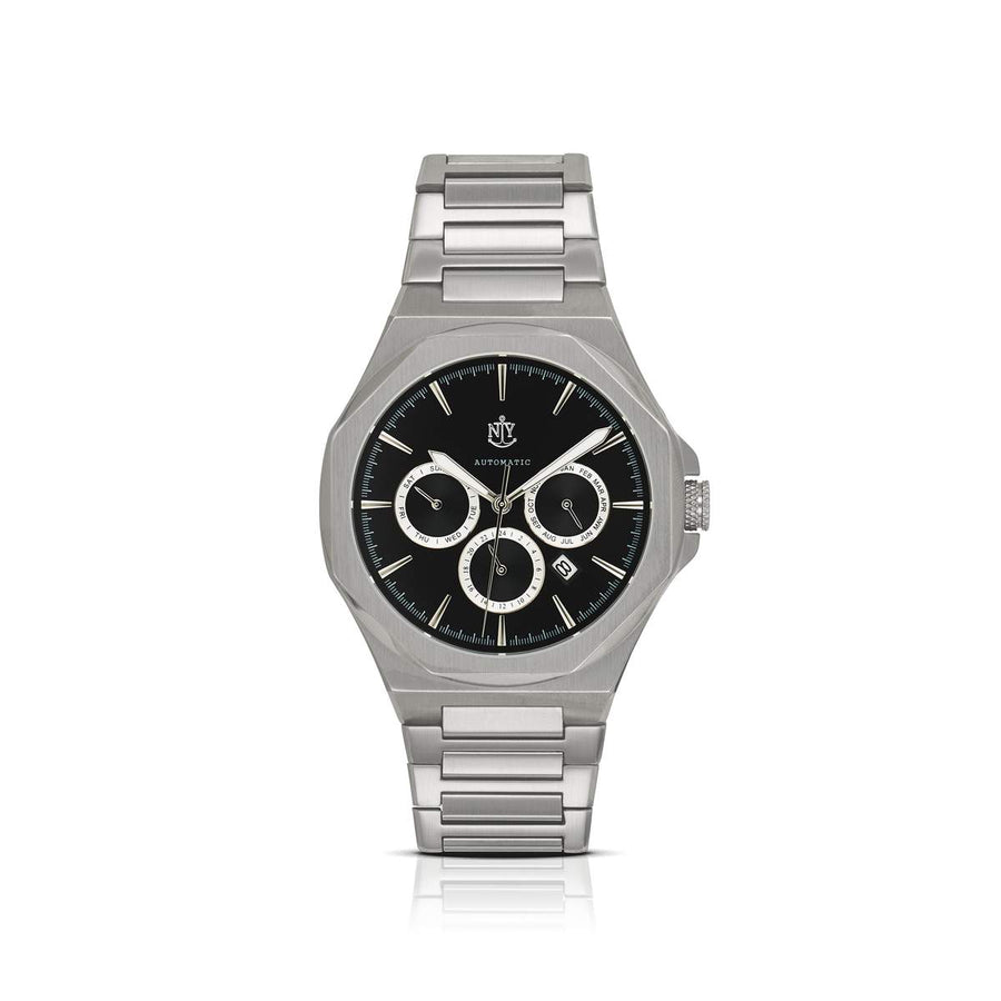NYI SYLVAN AUTOMATIC STAINLESS STEEL BAND