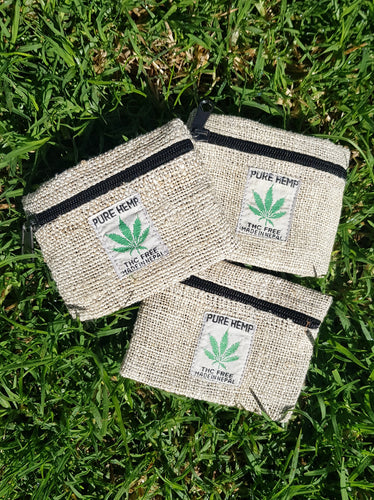 Hemp Zip Purse