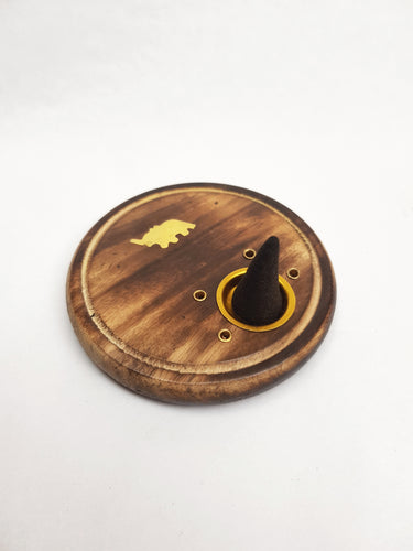 Small Wooden Incense Holder