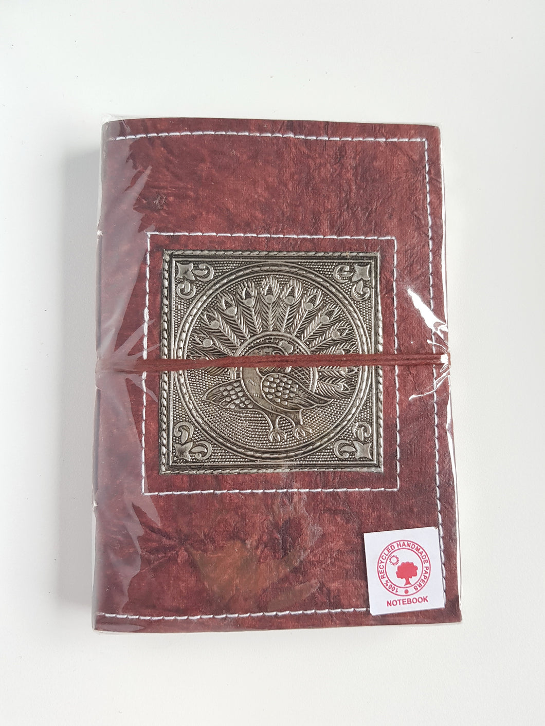 Leather Wrap Diary 12cm x 17.5cm