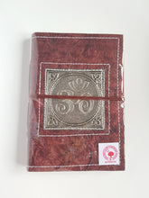 Load image into Gallery viewer, Leather Wrap Diary 12cm x 17.5cm