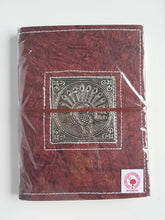 Load image into Gallery viewer, Leather Wrap Diary 14.5cm x 20cm
