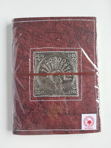 Leather Wrap Diary 14.5cm x 20cm