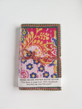 Load image into Gallery viewer, Wrap Fabric Diary 9.5cm x 15cm