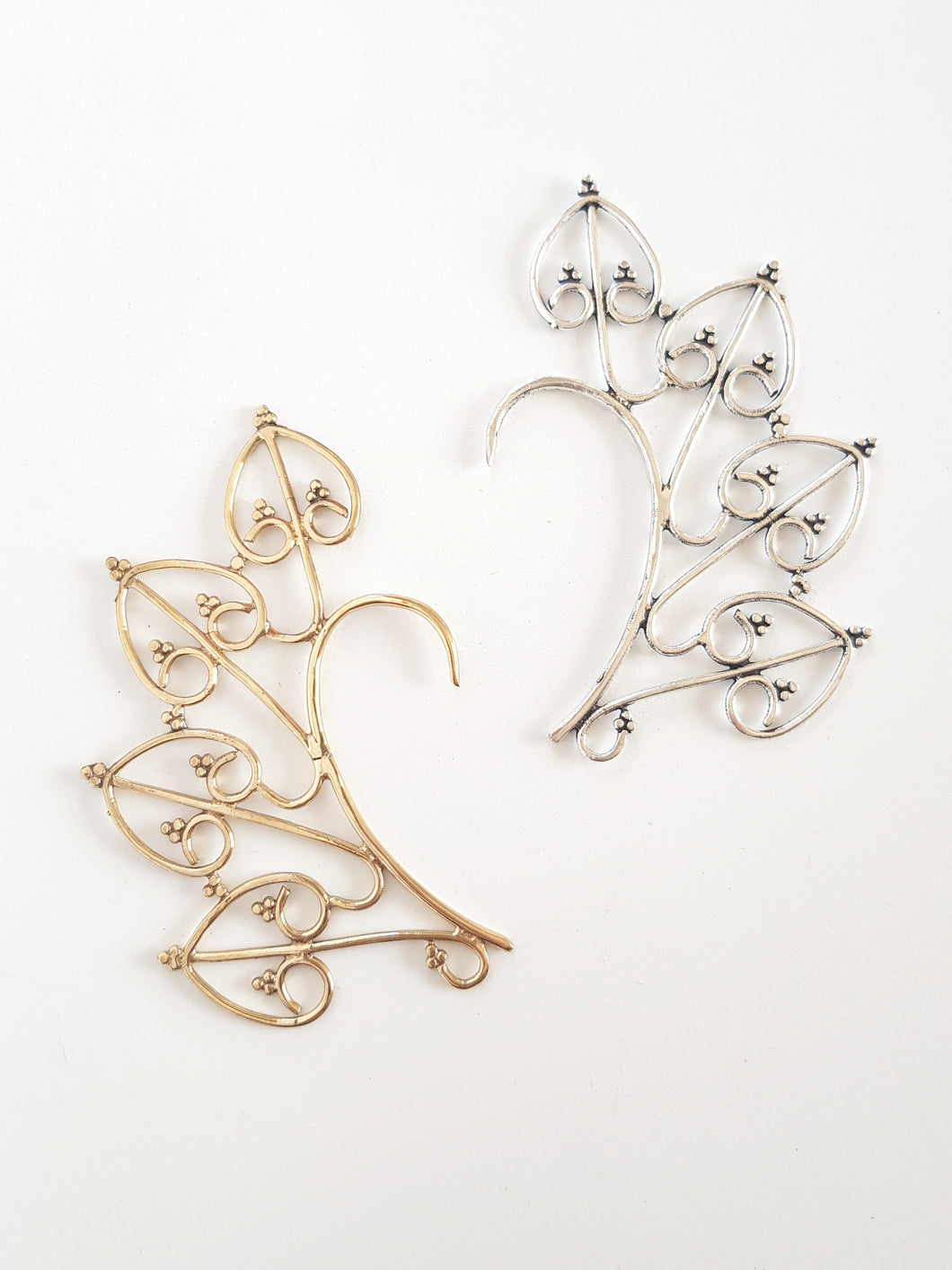 Brass Elf Ear Jewellery