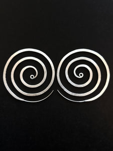 Frosted Spiral earrings