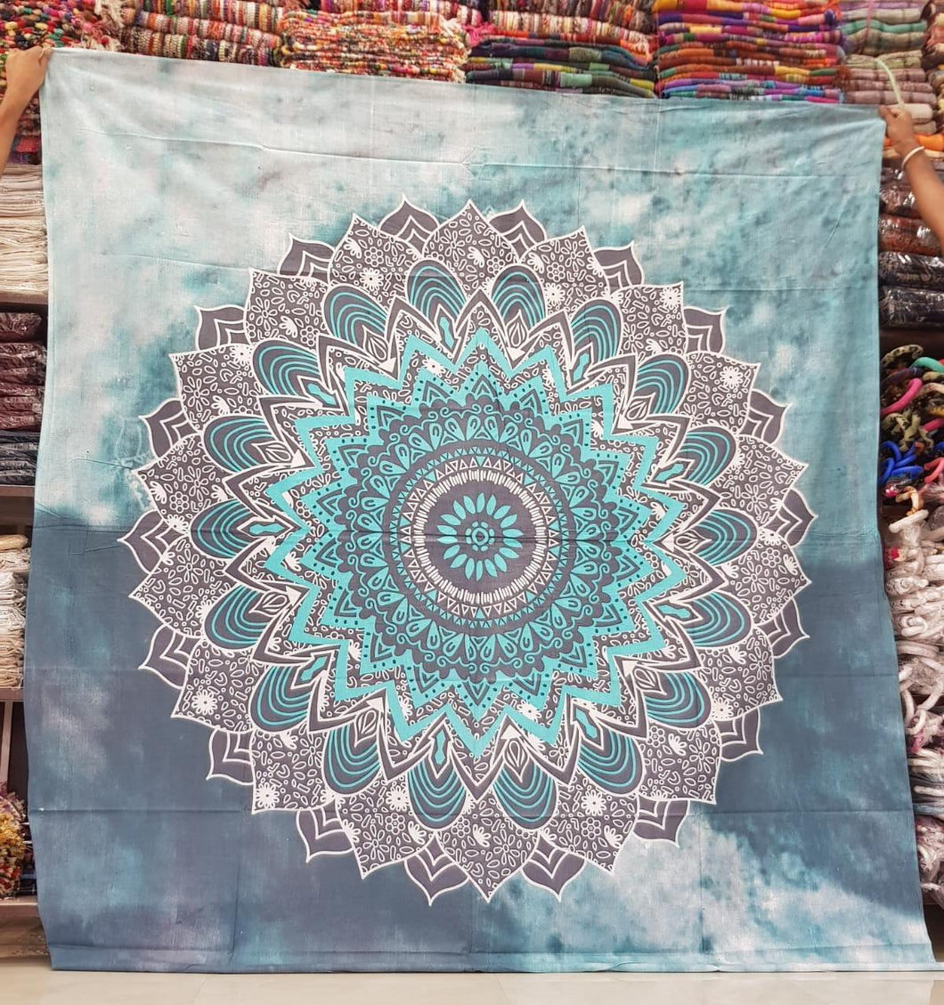 Two Tone Tie Dye Tapestry